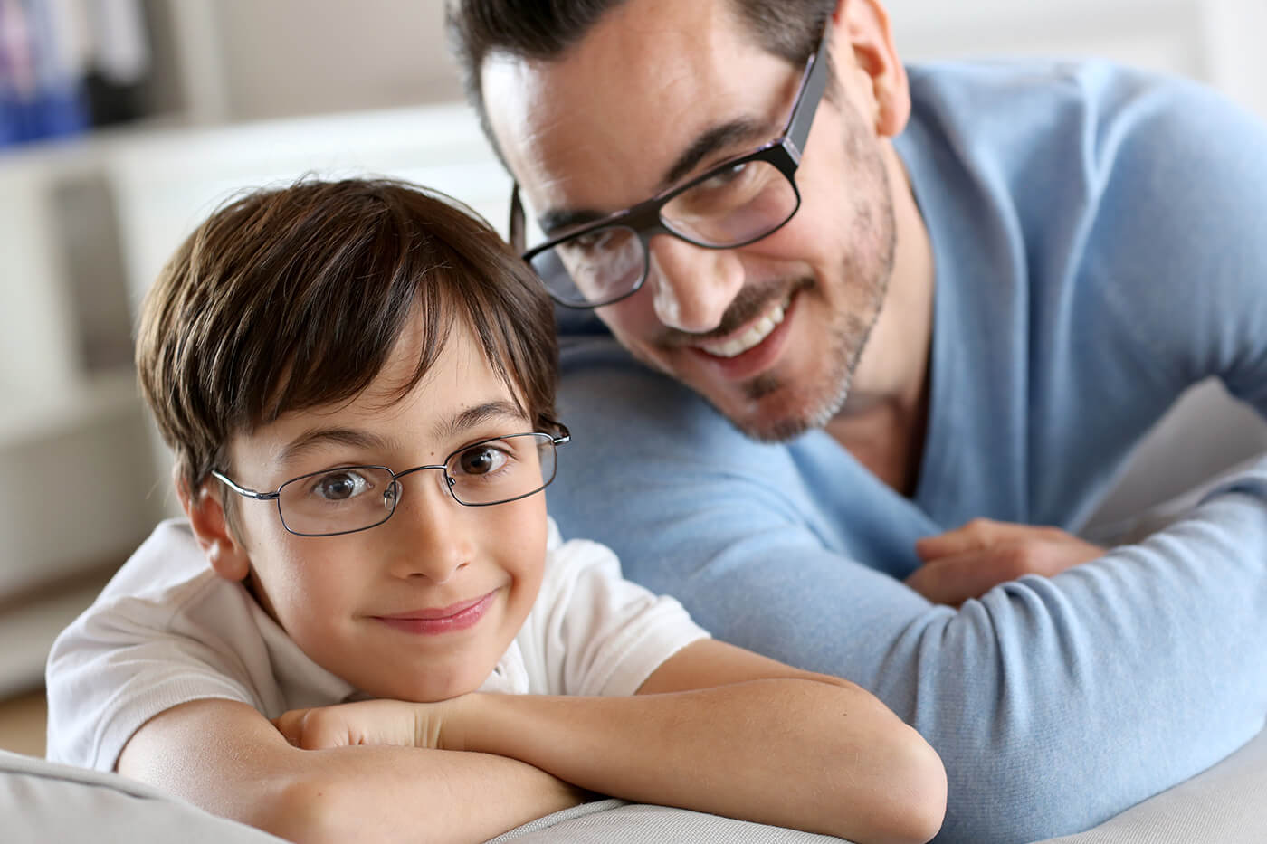 Glasses for kids and dads